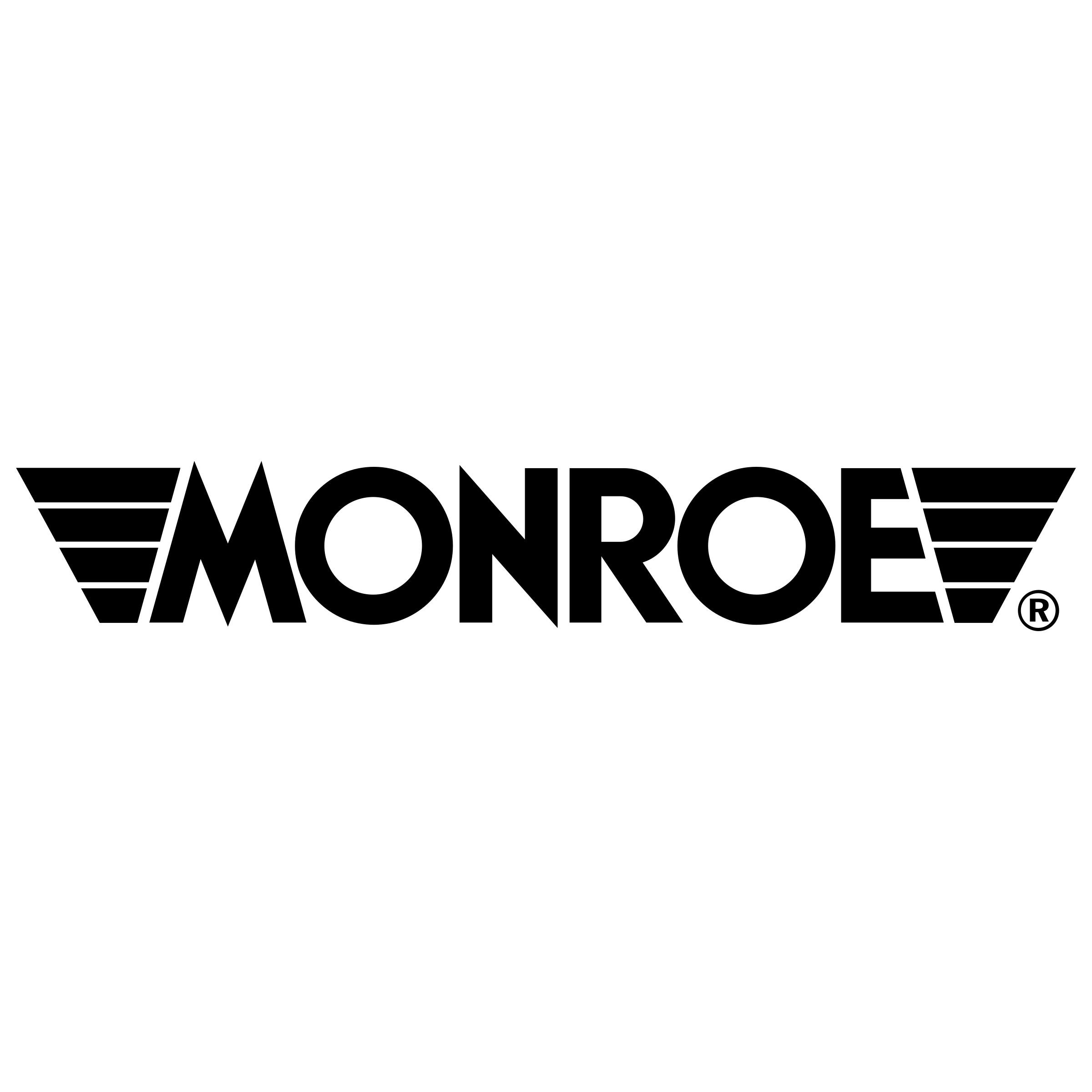 2x Monroe Stoßdämpfer D6631 für MERCEDES-BENZ
