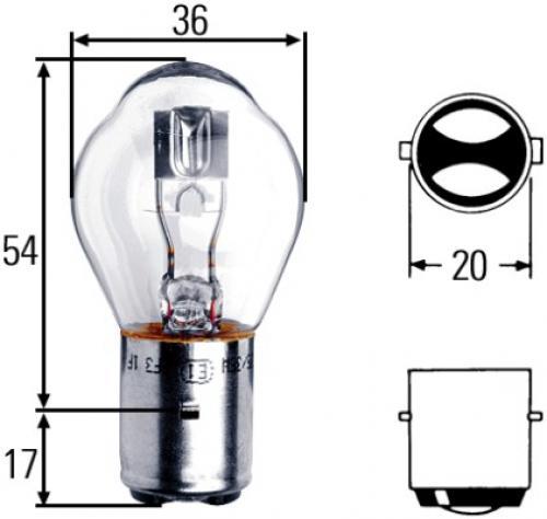 Hella Glühlampe Hauptscheinwerfer 8GD008897121