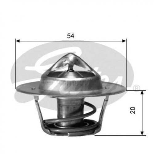 Gates Thermostat Kühlmittel TH00191G6 für CHEVROLET CHRYSLER DODGE JEEP