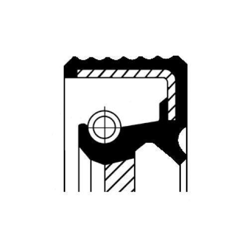 Corteco Wellendichtring Kurbelwelle 12025770B für RENAULT