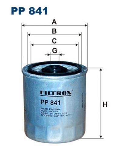 Filtron-Kraftstofffilter-PP841-fuer-MERCEDES-BENZ-FORD-SSANGYONG-VAUXHALL